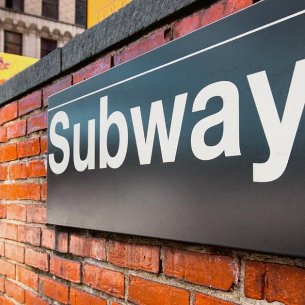 Subway Sign, Charter Bus Rental Iowa
