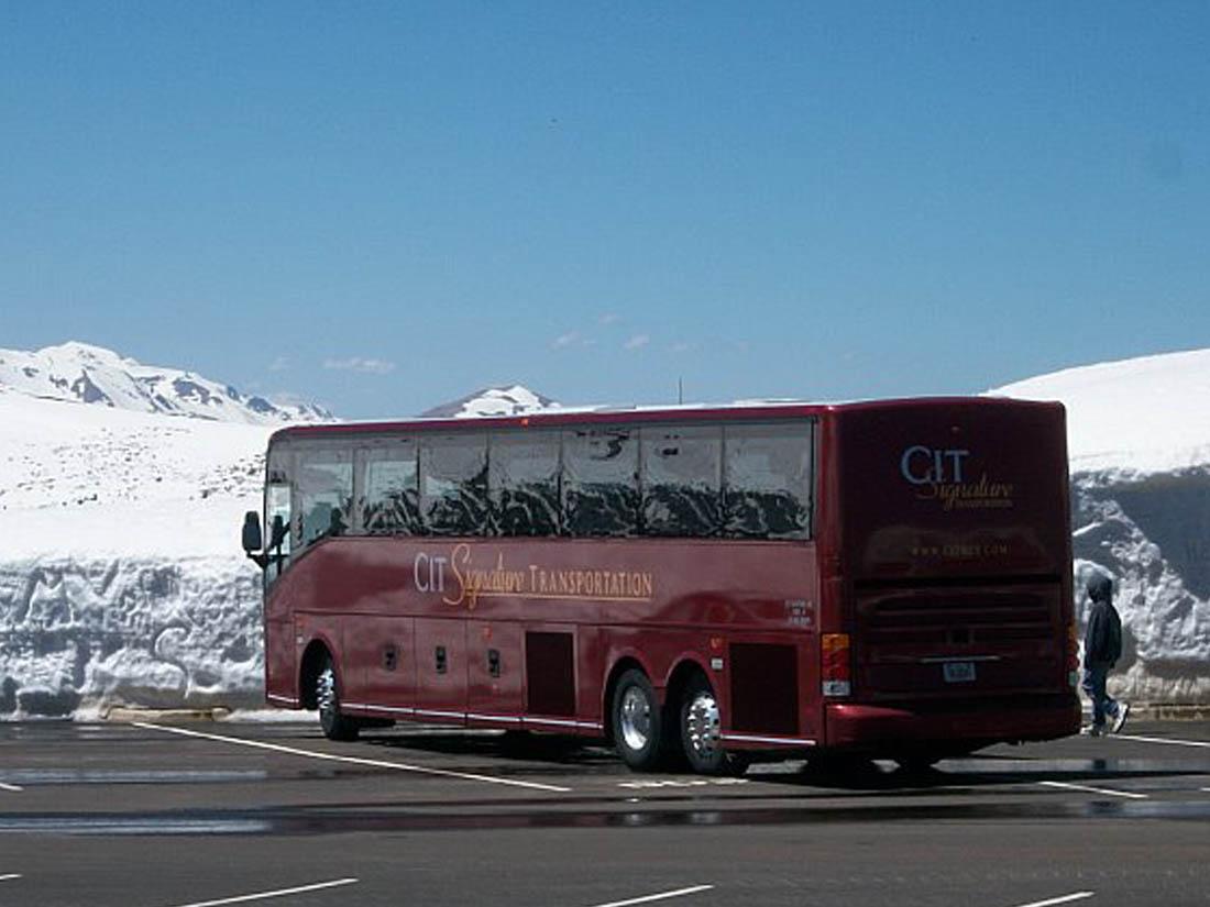 Charter Bus Iowa