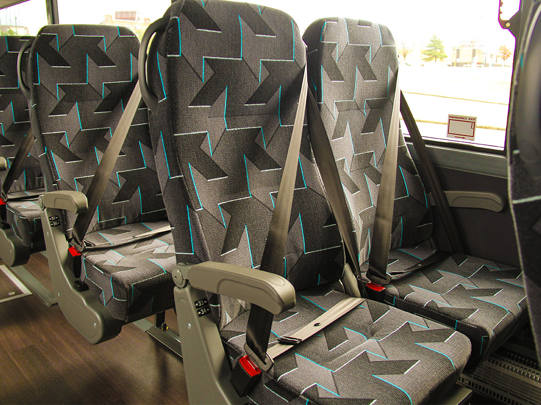Interior Seats for Motorcoach