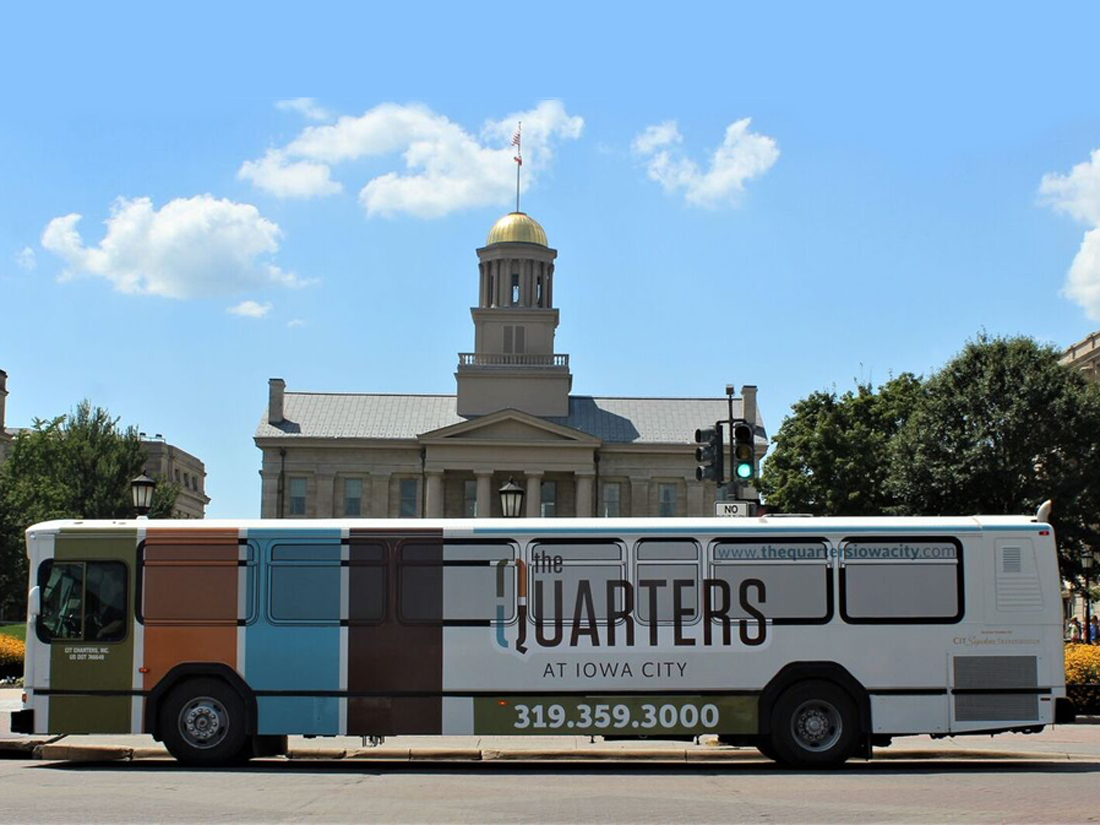 Transit Bus in Iowa City